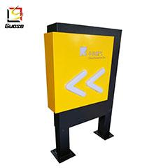 Petrol Statio Acrylic Material Exit Entrance Sign