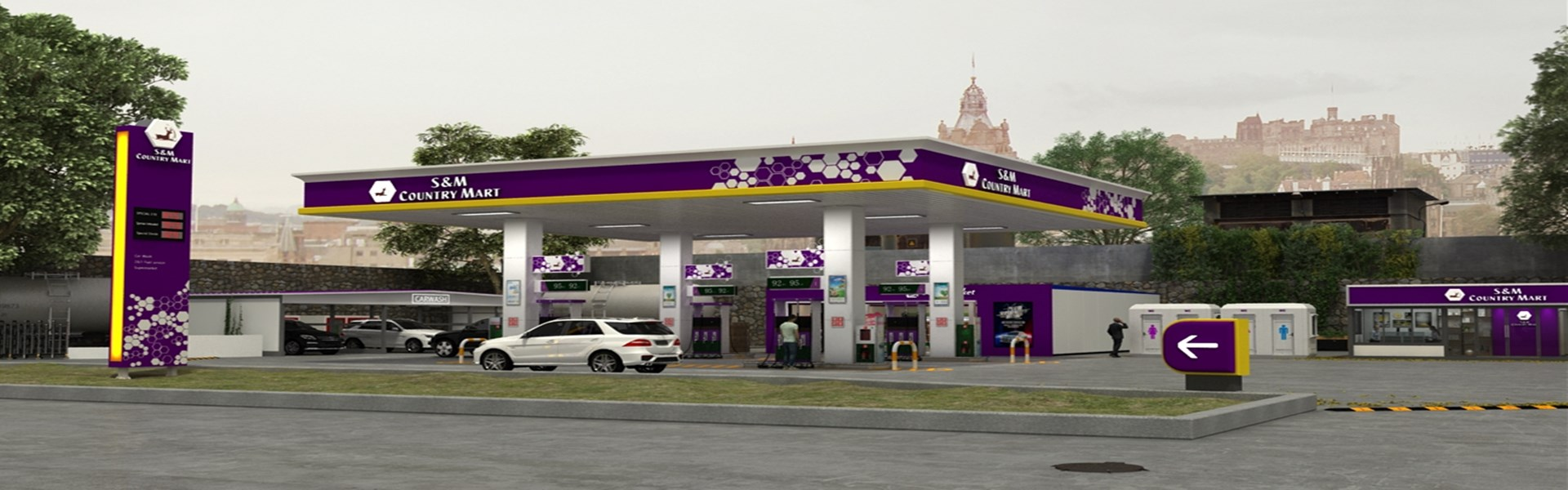 petrol station construction company